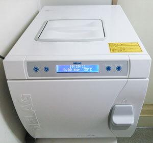 世界最高水準の滅菌器