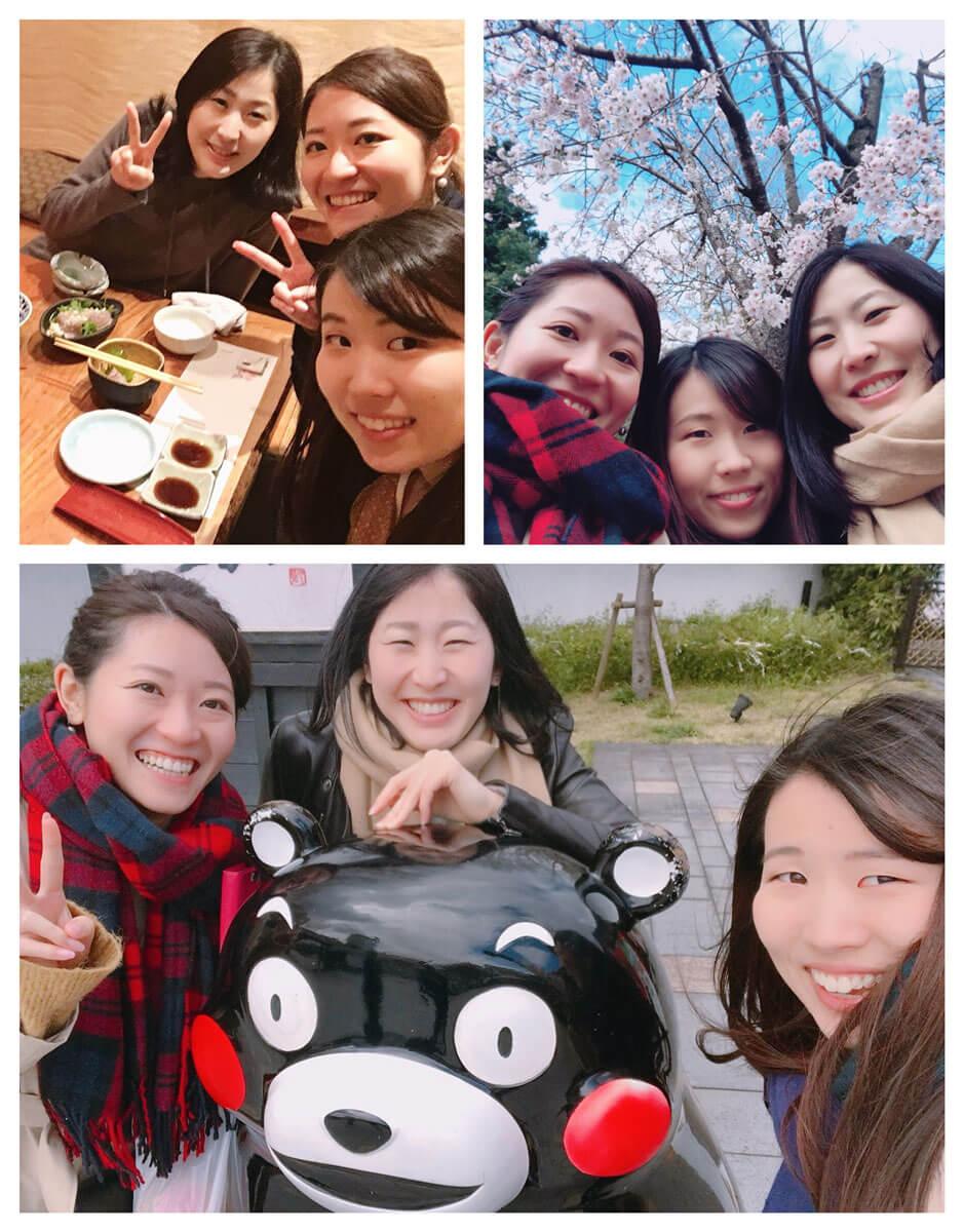 熊本でのセミナー受講を兼ねた社員旅行です。